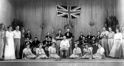 Blue Horizon Christmas Show, 1944-45, Darwin