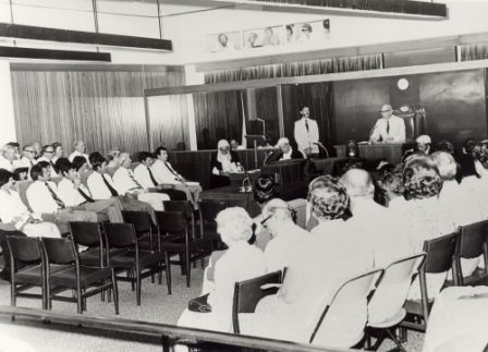 Opening of Parliament, Darwin, 8 September 1978; His Honour the Administrator John England in chair