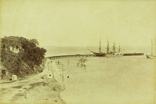 Stokes Hill and Jetty, 1887