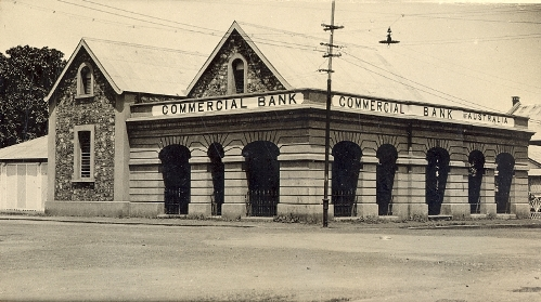 Commercial Bank - corner of Smith and Bennett streets, now the Paspaley Pearls headquarters