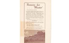 Bangtail Muster Souvenir Programme 1959