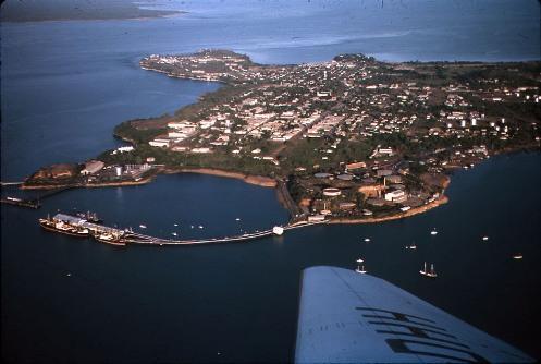 Aerial view of Darwin, 1965