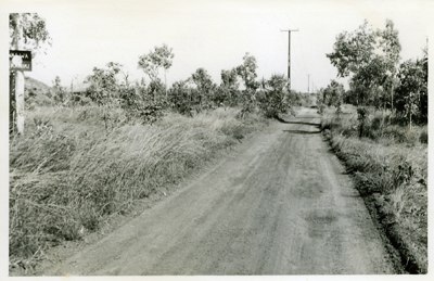 Dick Ward Drive replaced this unsealed track in 1980.