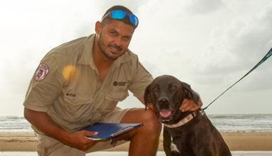 Operation Knot – Dog walking compliance checks to increase at Casuarina Coastal Reserve
