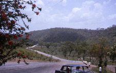 View from Hayes Creek Inn, highway going south ca December 1964, NTAS, Heather Graham, NTRS 3406, Item 108