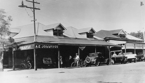 AE Jolly and Co store, corner of Smith and Bennett Streets, Darwin