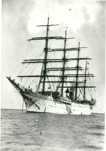 Japanese Training Ship, ca 1935